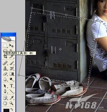 用PS去除照片杂物的修图教程