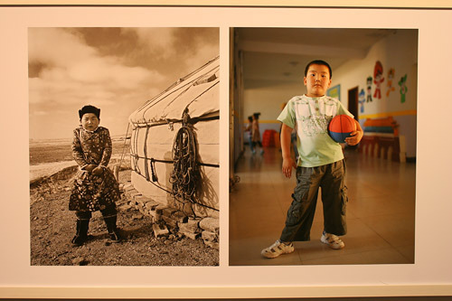阿音影像记录二十年《中国游牧蒙古人•学校》摄影展在北京开展