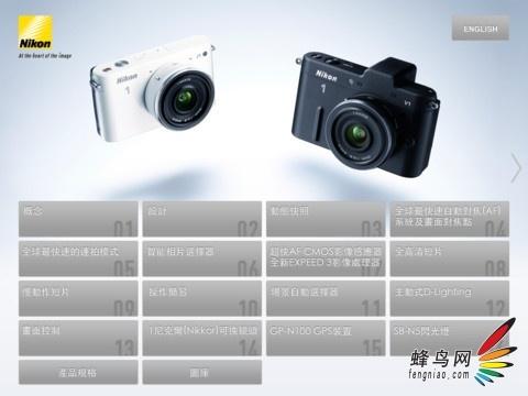 App推荐:Nikon 1系列官方iPad使用手册