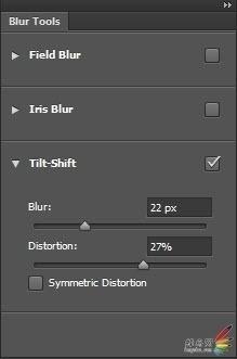 Photoshop CS6新功能:奇妙的移轴模糊