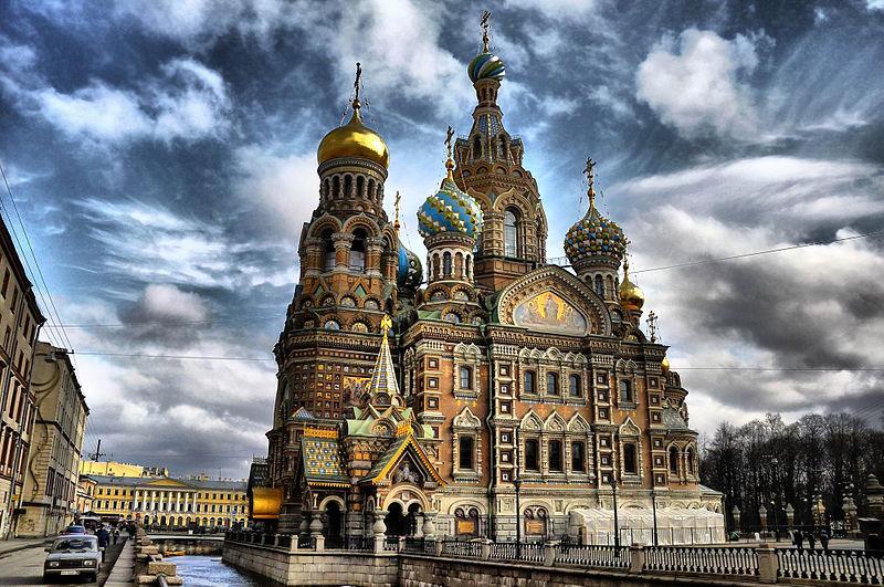"""震撼的""""滴血大教堂"""" 纯俄罗斯风格建筑"""
