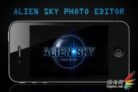 App推荐:Alien Sky将照片变为奇幻的外星球