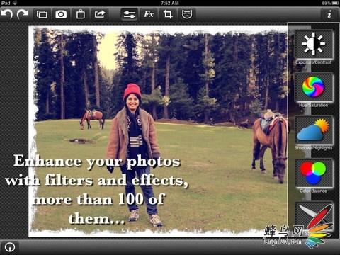 添加20种新效果 PhotoWizard HD发布更新