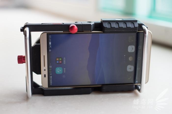 """辅助手机拍摄利器 科思洛手机""""兔笼""""试用"""